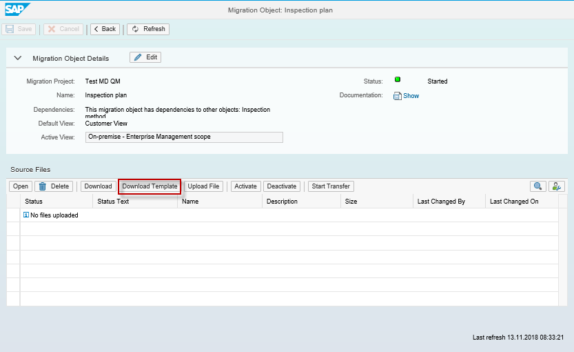 S4/HANA Migration Cockpit: How to modify migration object template file
