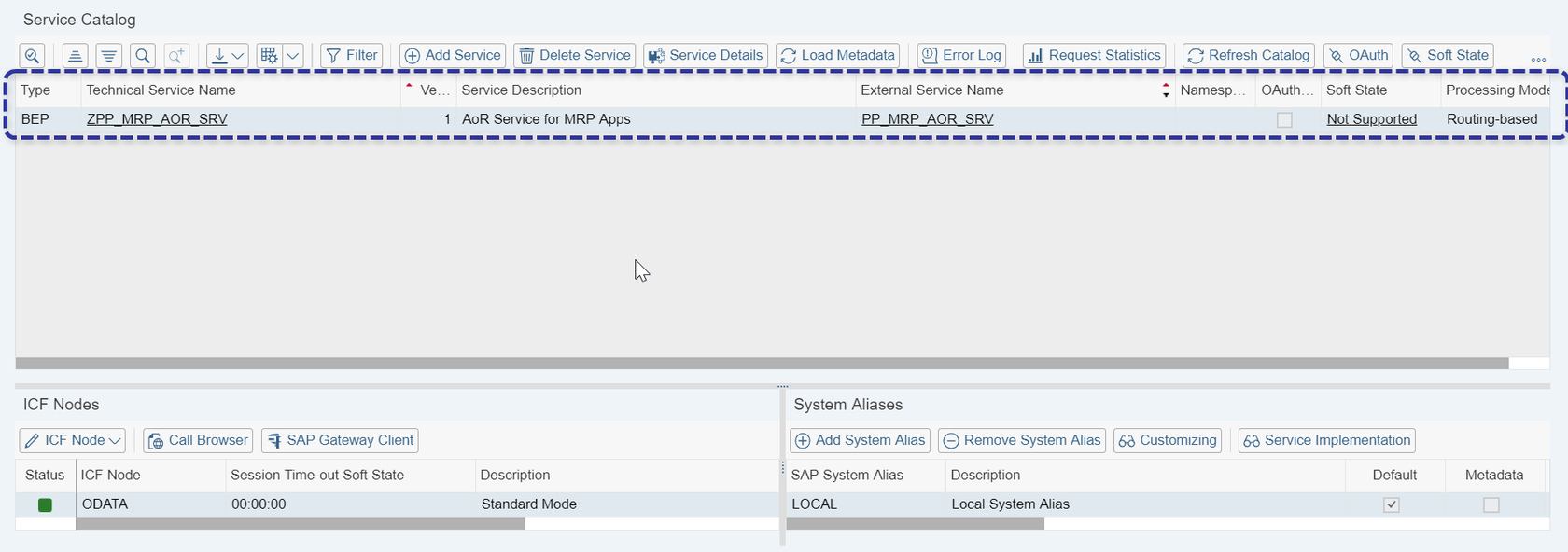 """Fiori App Error – """"Could not open app. Try again later"""" :("""