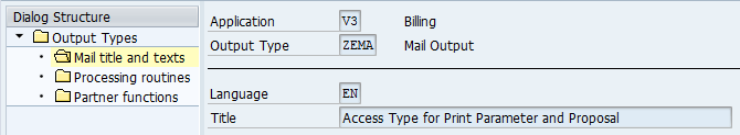 SD Invoice Output Type – External Email to Multiple Customer Recipient