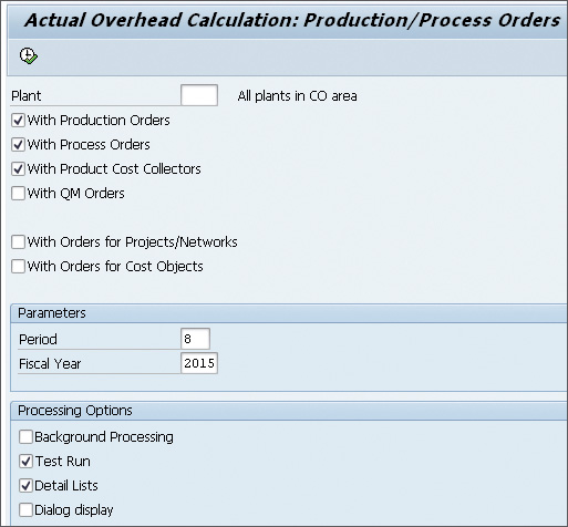 Executing Overheads on Cost Objects in SAP Controlling - SAP