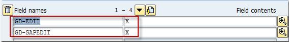 SE16N'de SAP_EDIT etkinleştirme