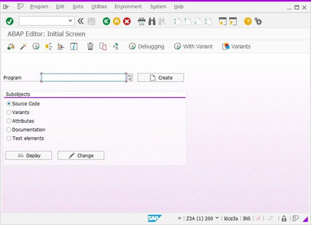 The new SAP GUI for Windows 7.50