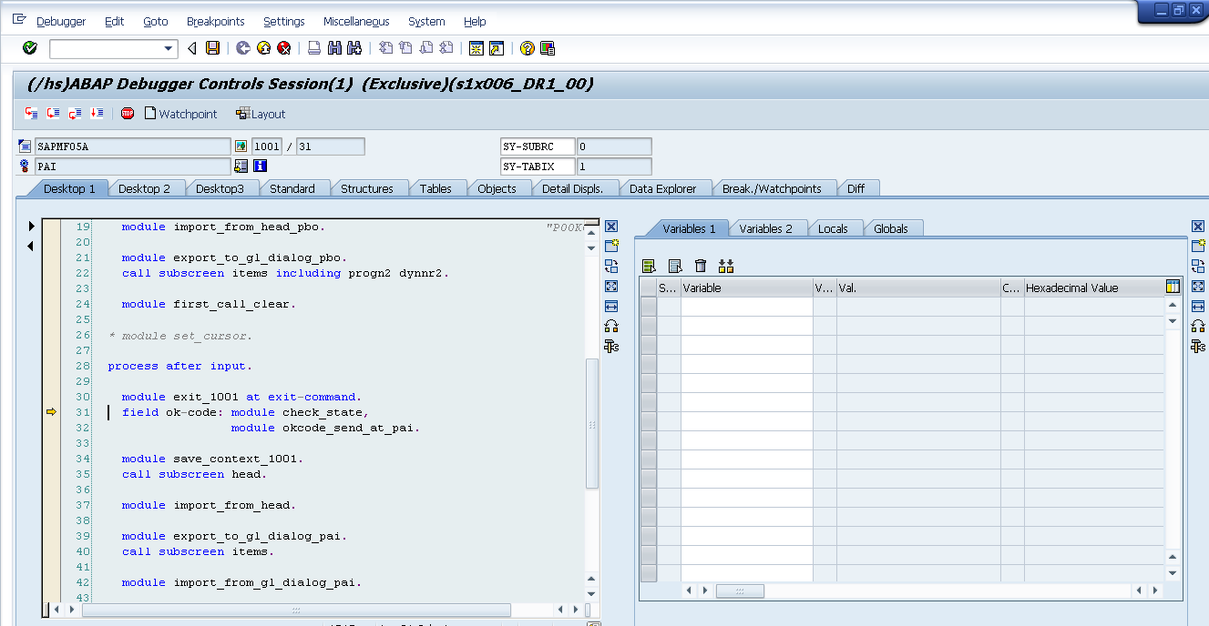 Debugging in SAP GUI – Tips, Tricks & Techniques – Introduction (Part 1)