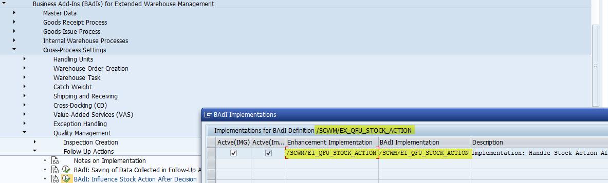 Basic integrated Inbound QI process using Embedded S4 HANA1610 EWM