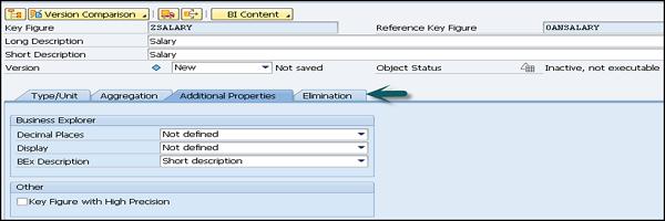 SAP BW - InfoArea, Object and Catalog