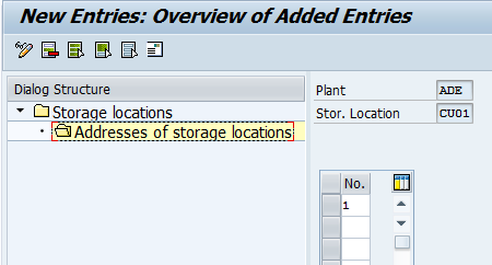 How To Create Storage Location In Sap Mm