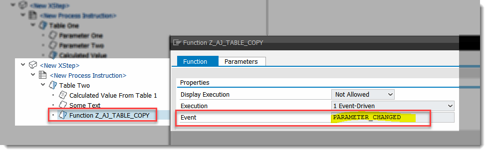 XSteps: How to reference two columns belonging to different repeated data requests?