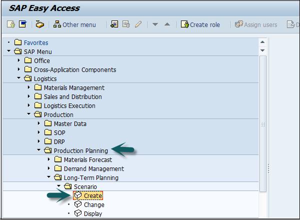SAP PP - Long Term Planning