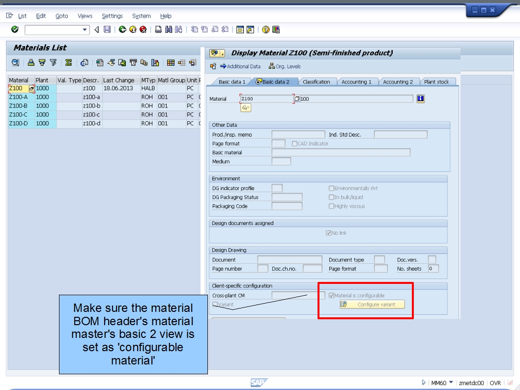 how to create equipment bom in sap pm