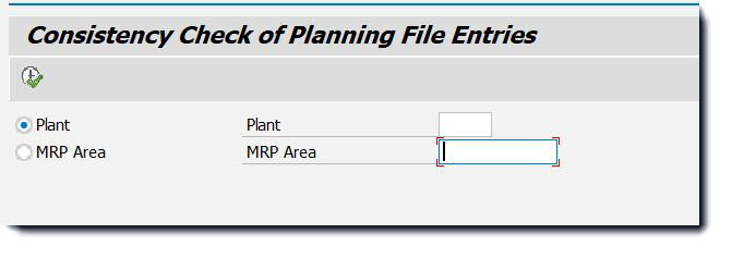 Automatic correction of Planning file entries during MRP Live run.