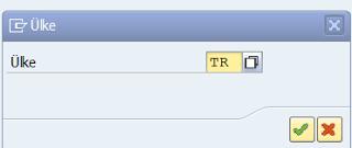 SAP FI- Kdv Oranlarının Tanımlanması
