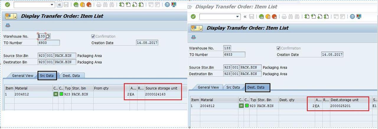 Repacking a Handling unit: A kind of Tautomerism - SAP Modulleri
