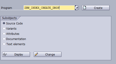 Table maintenance with ABAP in BW